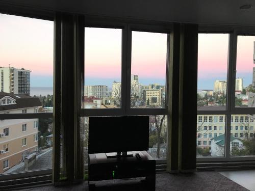 Телевизор и/или развлекательный центр в Apartment Lux Room