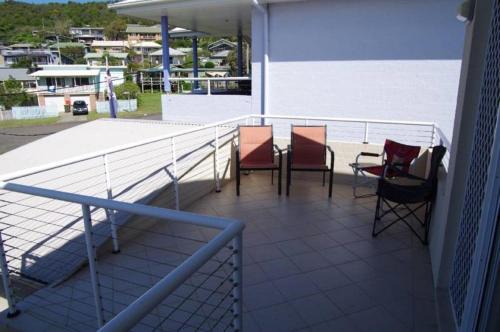 A balcony or terrace at Adrift, 5B Scott Street