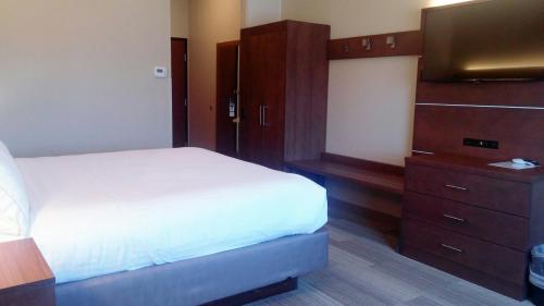 A bed or beds in a room at Holiday Inn Express & Suites - Miami, an IHG hotel