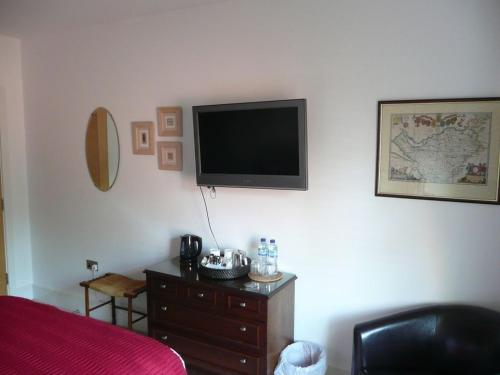 A television and/or entertainment center at 2 The Rocklands