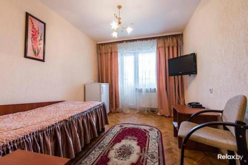 Гостиная зона в Agat Hotel