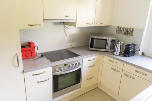 Küche/Küchenzeile in der Unterkunft House M
