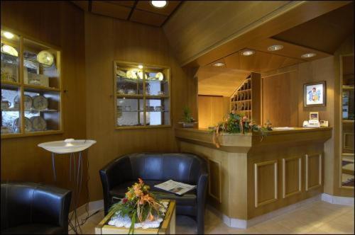 Lobby/Rezeption in der Unterkunft Hotel Café Nothnagel