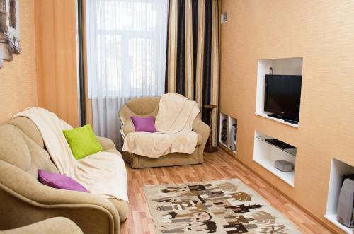 Гостиная зона в Dvukh komnatnyie apartamienty