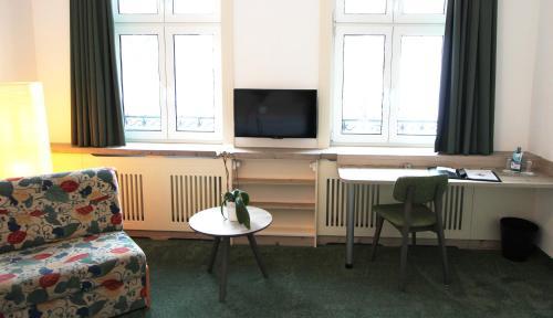 TV/Unterhaltungsangebot in der Unterkunft Hotel Thormählen