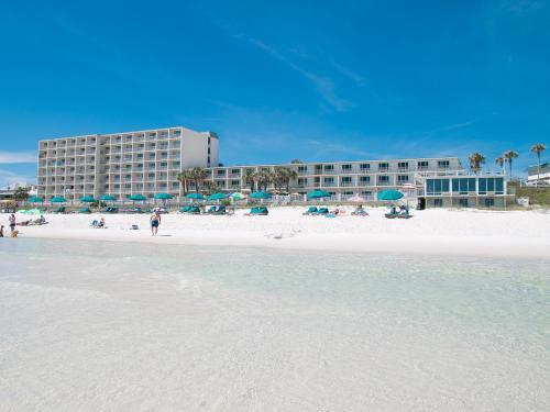 A beach at or near the motel