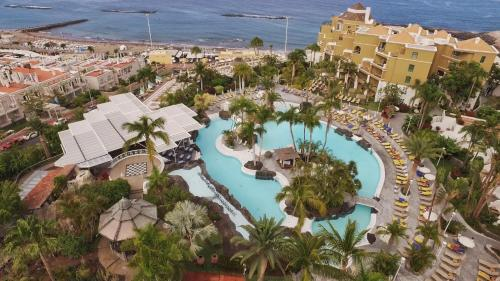 Een luchtfoto van Adrián Hoteles Jardines de Nivaria