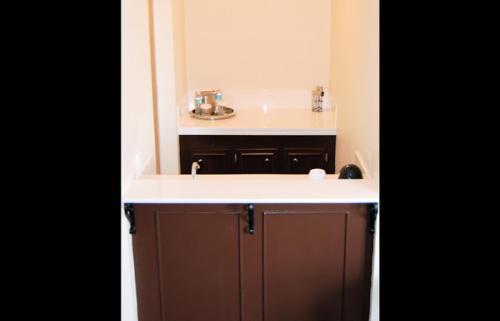 A kitchen or kitchenette at Hotel Bentley