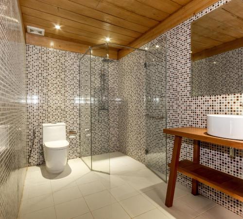 アンコール ハート バンガローにあるバスルーム