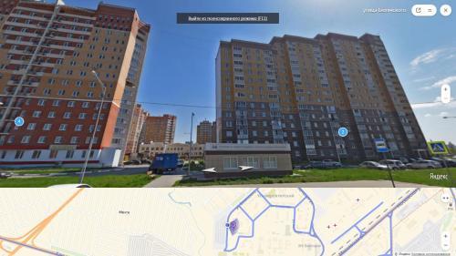 The floor plan of Apartment on Belyanskogo