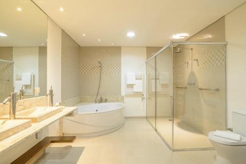 A bathroom at Le Renard