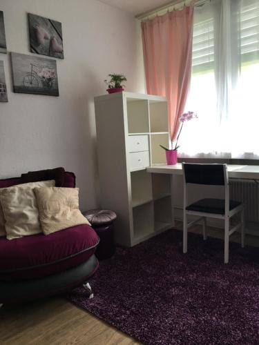 Ein Sitzbereich in der Unterkunft Apartments in Bern - Breitenrainplatz