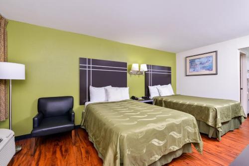 Americas Best Value Inn-Nashville/Airport Southにあるベッド