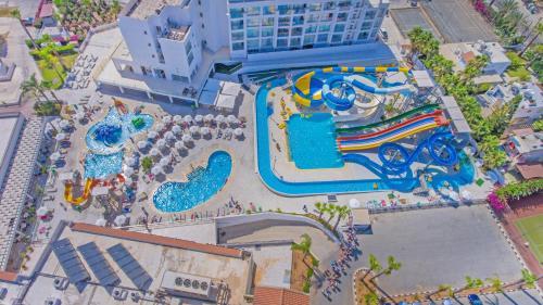 A bird's-eye view of Anastasia Hotel Apartments