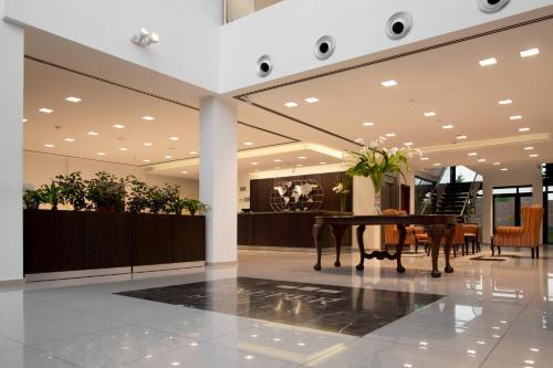 El lobby o recepción de Neper Hotel