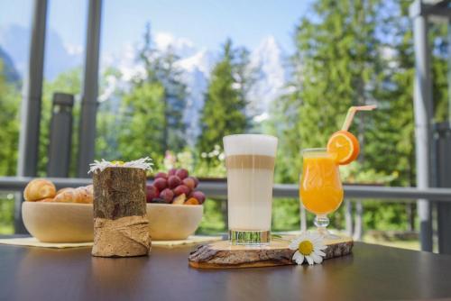 Ontbijt beschikbaar voor gasten van Špik Alpine Resort