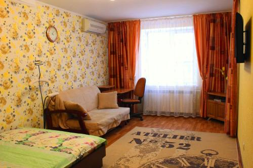 A seating area at Svetlana's Apartments, Center of Sumy