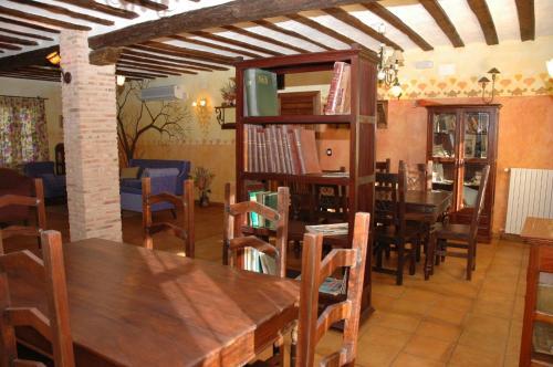 Un restaurante o sitio para comer en Casa Rural las Médicas