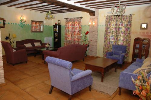 Zona de estar de Casa Rural las Médicas