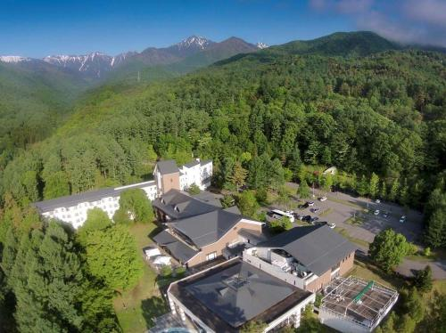 A bird's-eye view of Azumino Hotaka View Hotel