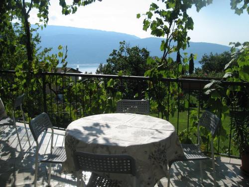 A balcony or terrace at Le Fiorini