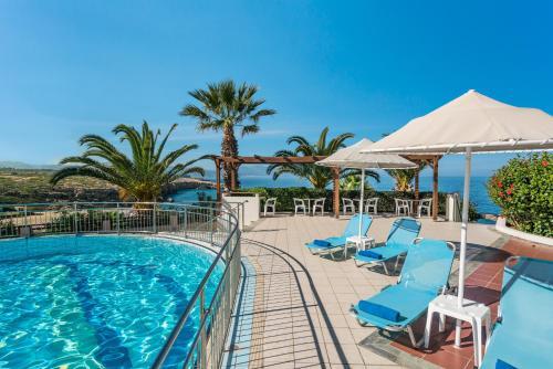 The swimming pool at or near Iberostar Creta Panorama & Mare