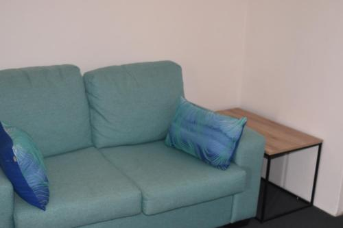 A seating area at Forster and Wallis Lake Motel