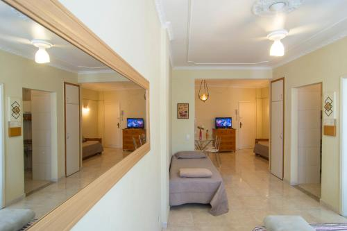 The lobby or reception area at Flat General