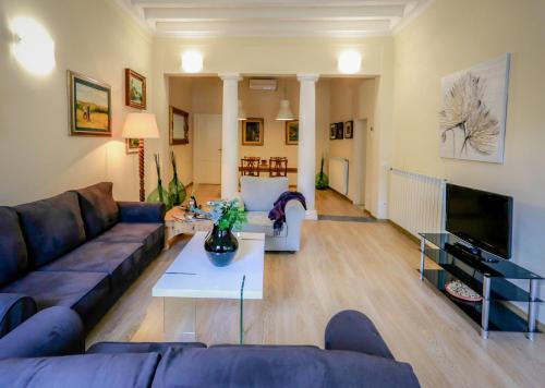 Zona de estar de Acacia Firenze Apartments Artemisia-Angelica