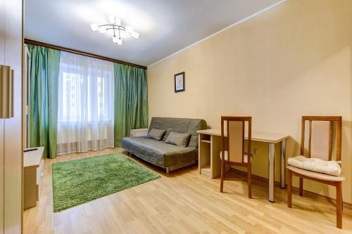 Гостиная зона в SutkiPeterburg Ozerki