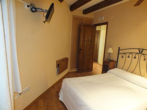 Cama o camas de una habitación en Centro de Turismo Rural El Recreo