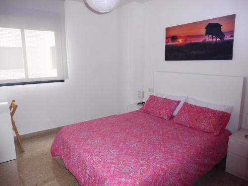 Cama o camas de una habitación en Las Buganvillas II