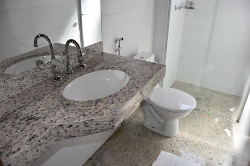 A bathroom at Hotel Cosini