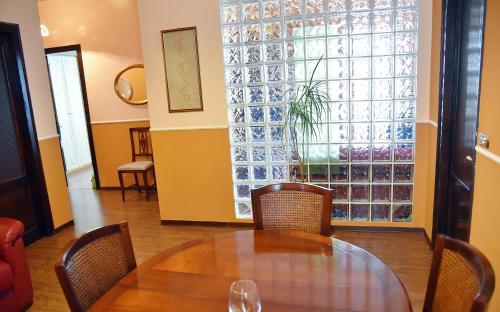 A seating area at Casa Maura