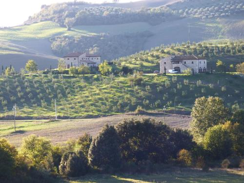 A bird's-eye view of Agriturismo Podere Campaini