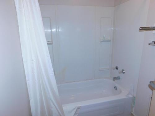 A bathroom at Timberland Hotel