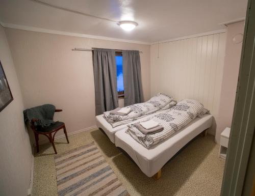 En eller flere senger på et rom på Ellingsen Apartment - Kong Hans gt 6