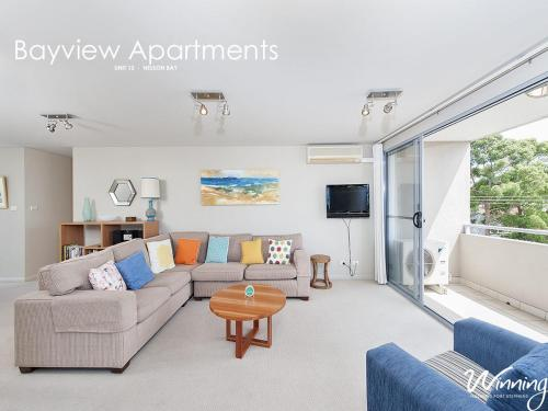 A seating area at Stockton Street, Bayview Apartments, Unit 12, 42