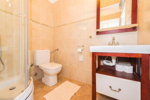"A bathroom at Rural house Mudrinic ""Ivini dvori"""