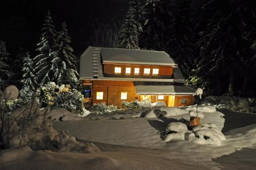 Chalet Styria during the winter