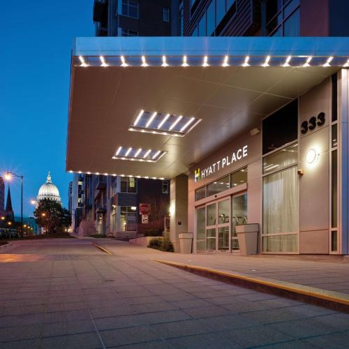 Hyatt Place Madison Downtown.