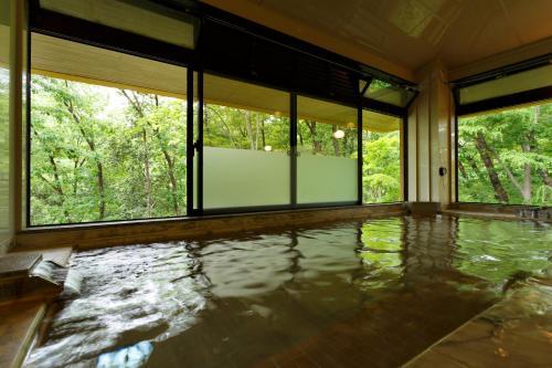 The swimming pool at or near Okutamaji