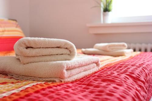 Postel nebo postele na pokoji v ubytování Superior Apartment Zámecká