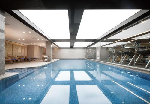 The swimming pool at or near Fraser Place Central Seoul
