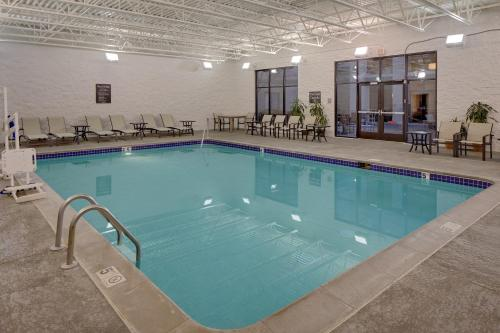 The swimming pool at or near Homewood Suites Minneapolis - Mall of America