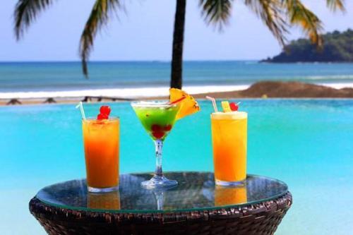 Drinks at Playa Venao Hotel Resort