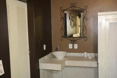 A bathroom at Casa da Maisa