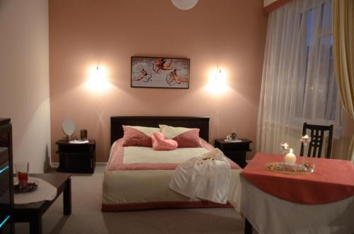 Кровать или кровати в номере Гостевой дом Saiver