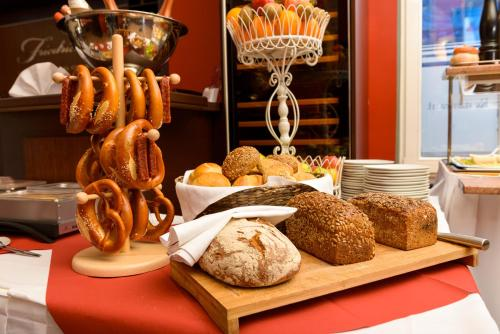 Завтрак для гостей Altstadthotel Am Theater