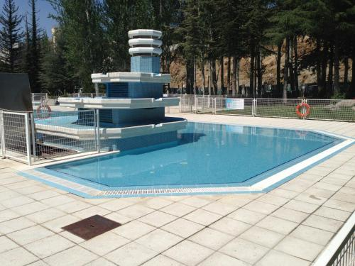 The swimming pool at or near Sports Hotel Nayade
